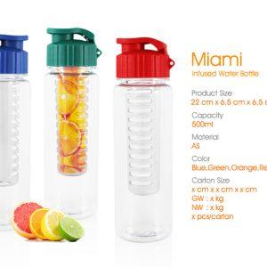 botol infused water